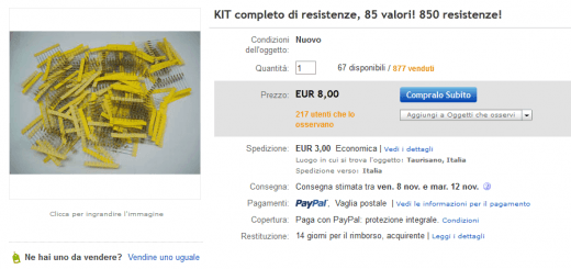 Ebay Kit Resistenze