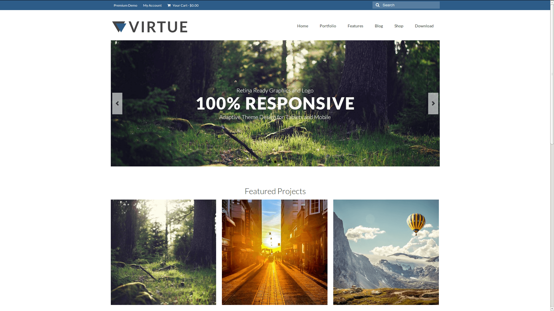 Temi WordPress Gratis – Virtue